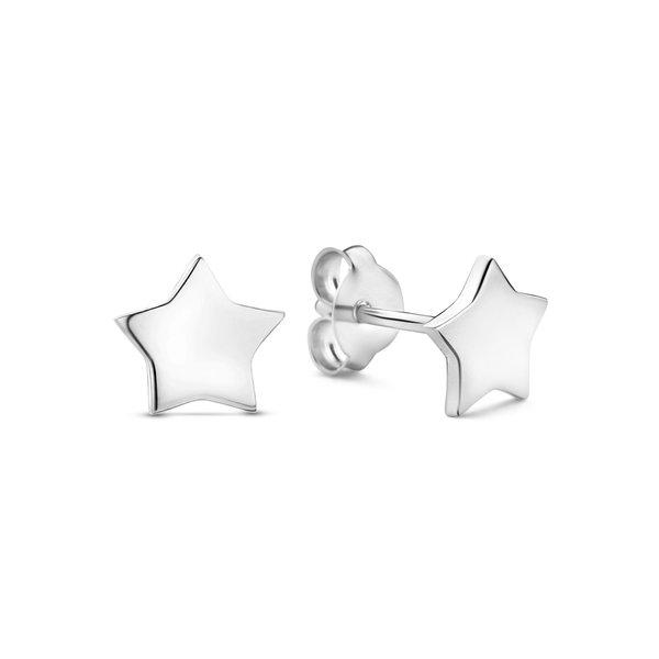Selected Jewels Julie Esthée orecchini a bottone in argento sterling 925