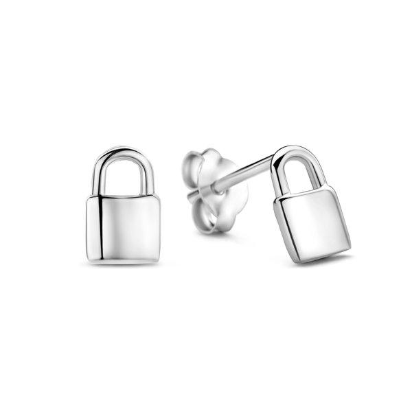Selected Jewels Julie Kayla 925 sterling silver ear studs