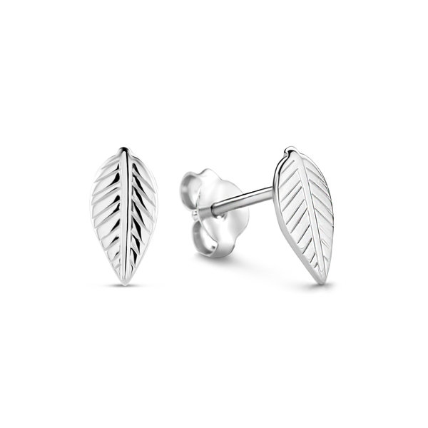 Selected Jewels Julie Lucie orecchini a bottone in argento sterling 925