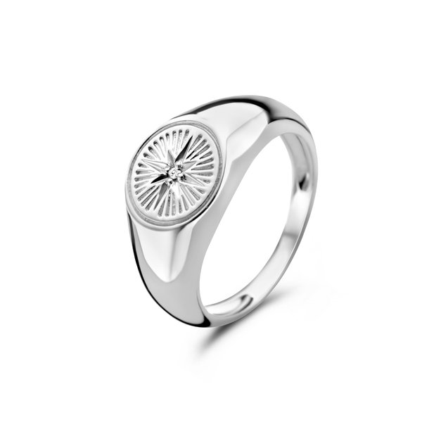 Selected Jewels Lená Rose anello in argento sterling 925