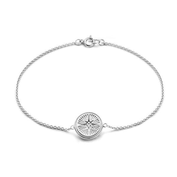 Selected Jewels Lená Rose bracciale in argento sterling 925