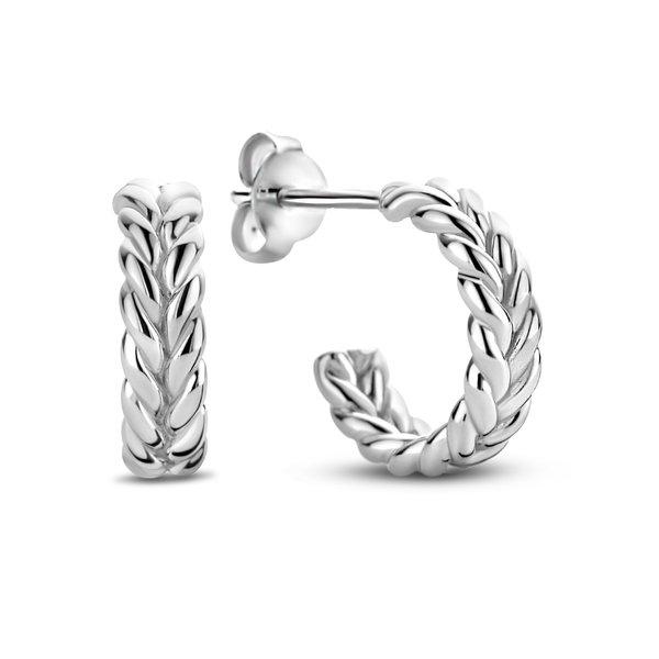 Selected Jewels Léna Claire 925 sterling zilveren creolen