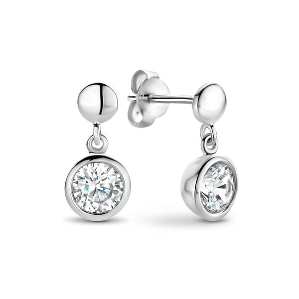 Selected Jewels Mila Elodie orecchini pendenti in argento sterling 925