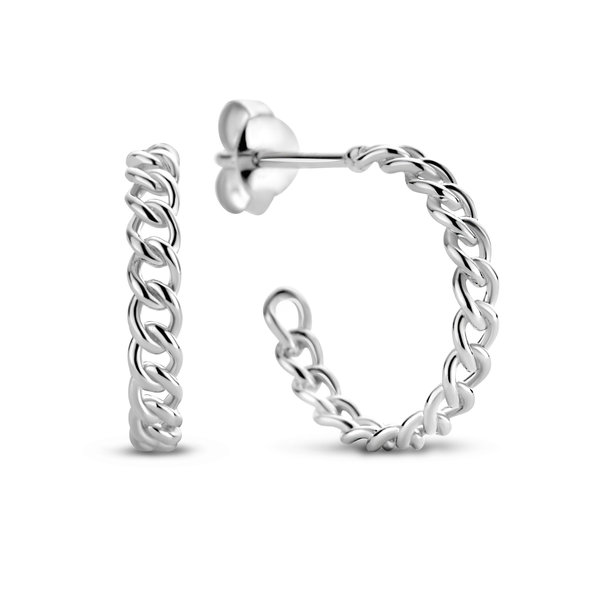 Selected Jewels Emma Vieve 925 Sterling Silber Creolen