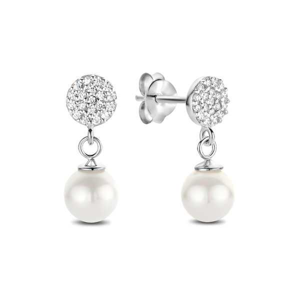 Selected Jewels Mila Margaux orecchini pendenti in argento sterling 925