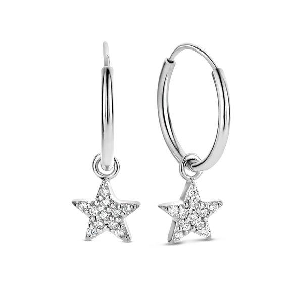 Selected Jewels Julie Esthée 925 sterling silver hoop earrings