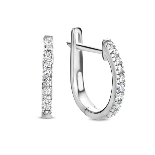 Selected Jewels Mila Elodie creole in argento sterling 925