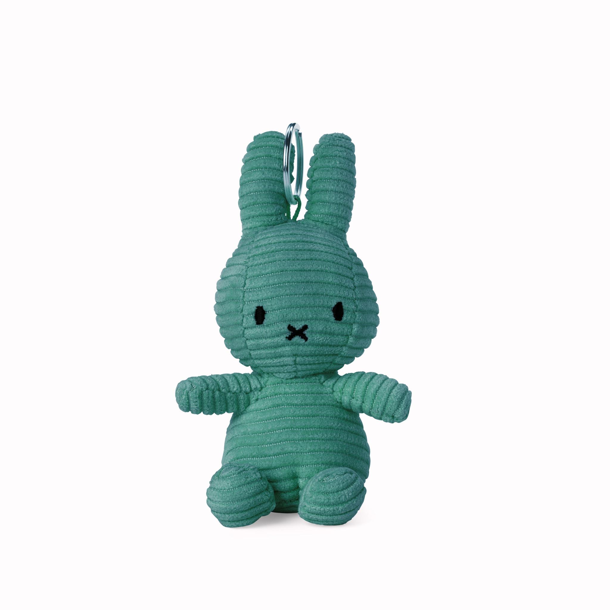 Nijntje/Miffy/Snuffy Miffy Keychain Corduroy Green - 10 cm
