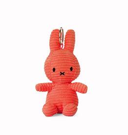 Nijntje/Miffy Miffy Keychain Corduroy Bubblegum Pink - 10 cm