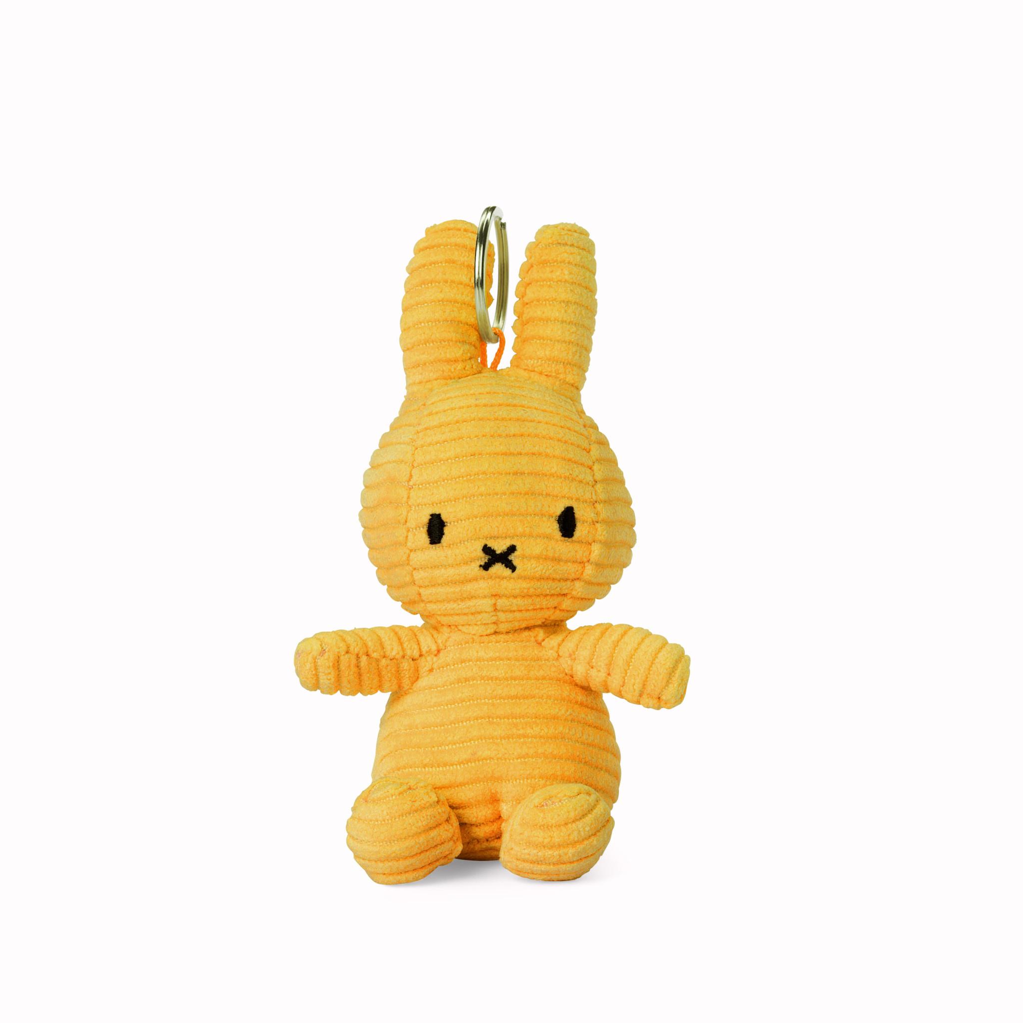 Nijntje/Miffy/Snuffy Miffy Keychain Corduroy Yellow - 10 cm