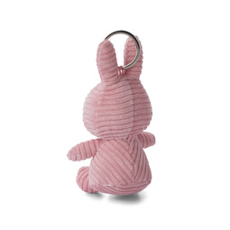 Nijntje/Miffy Miffy Keychain Corduroy Pink - 10 cm