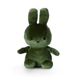 Nijntje/Miffy Miffy Sitting Velvet Moss Green - 23 cm - 9