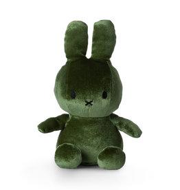 Nijntje/Miffy Miffy Sitting Velvet Moss Green - 23 cm