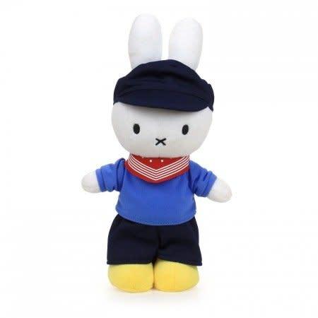 Nijntje/Miffy/Snuffy Miffy farmer - 24 cm. - 9,5