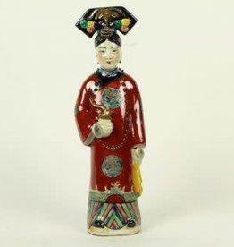 Bruine Keizerin Chinees beeldje
