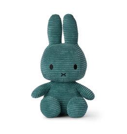 Nijntje/Miffy Miffy Sitting Corduroy Green - 33 cm
