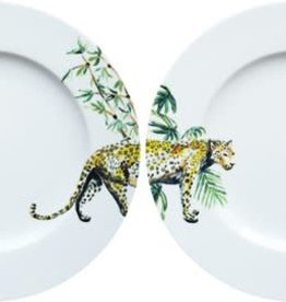 Catchii Plate 21 cm 'Jungle Stories' Panther