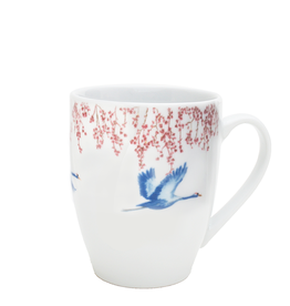 Catchii Mug 370 ml Blossom & Cranes