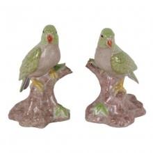 Papegaai Beeldjes van Porselein Maten: 17x10x10cm