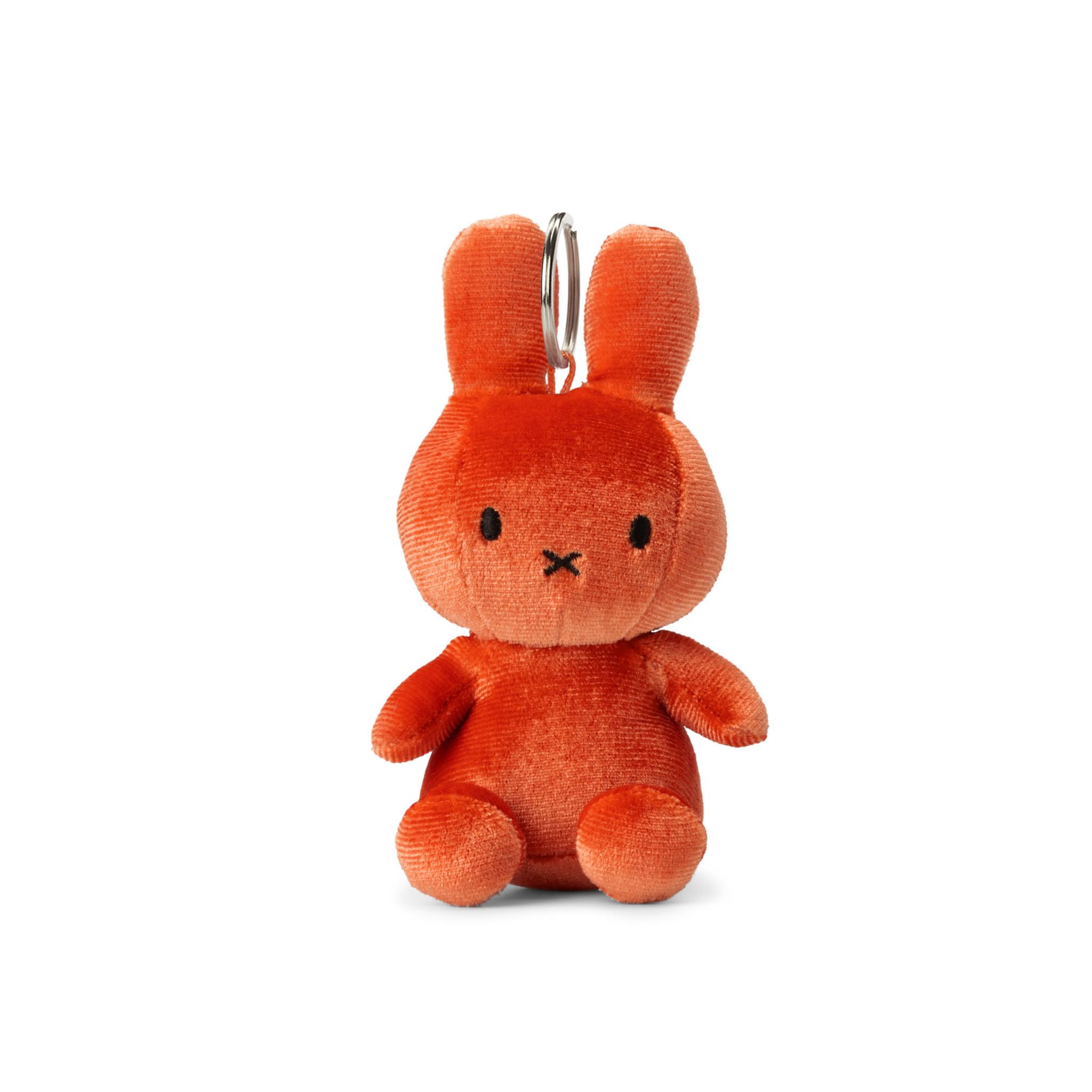 Nijntje/Miffy/Snuffy Miffy Keychain Velvet Orange - 10 cm