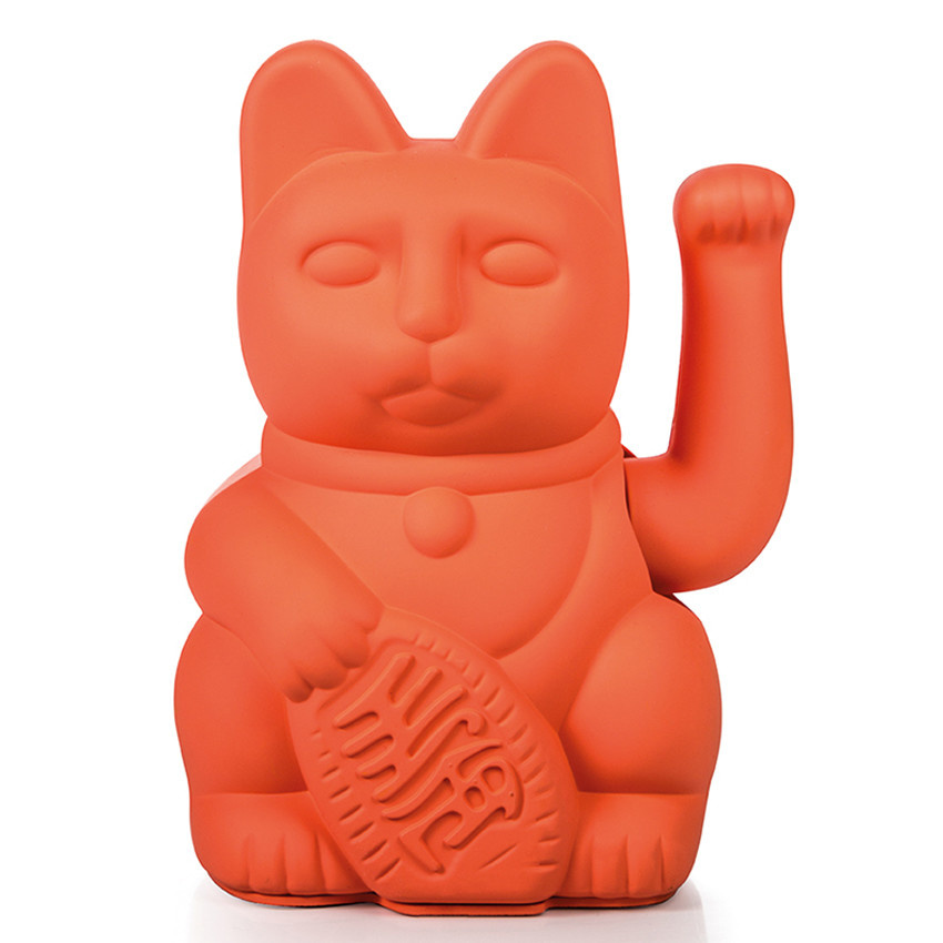 Donkey products Donkey Lucky Cat Neon Pink 15x10,5cm