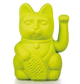 Donkey Lucky Cat Neon Green
