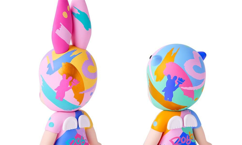 Sonny Angel Artist Collection Uribou painted by Robby 12CM