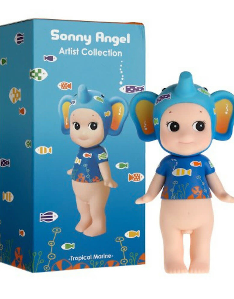 Sonny Angel Artist Collection Tropical Marine Elephant 15cm