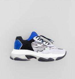 Bronx Shoes Sneaker Bronx Baisley Snake Kobalt