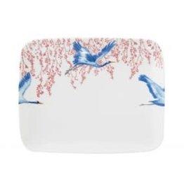 Catchii Schaal 29 cm Blossom & Cranes