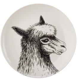 Pols Potten Pols Potten Side plate Animal Alpaca