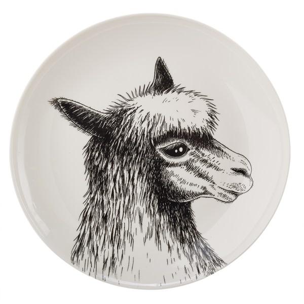 Pols Potten Pols Potten Side plate Animal Alpaca