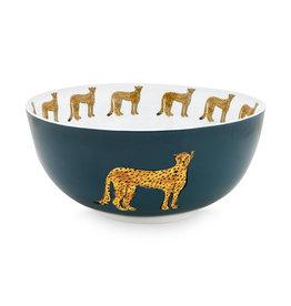 Fabienne Chapot Bowl Cheetah 23cm
