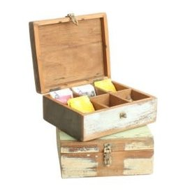 Scrapwood Teabox M  23x19x10cm