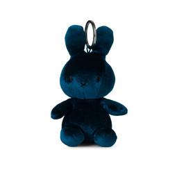 Nijntje/Miffy Miffy Keychain Velvet Dark Teal - 10 cm