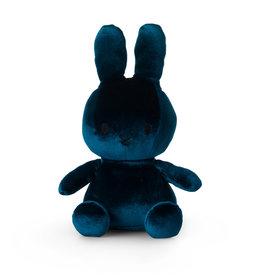 Nijntje/Miffy Miffy Sitting Velvet Dark Teal - 23 cm