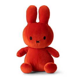 Nijntje/Miffy Miffy SittingVelvet Candy Orange - 23 cm