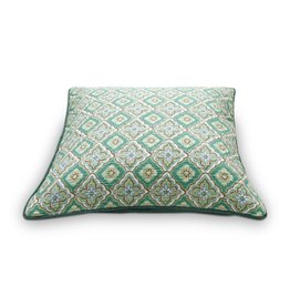 Pip Cushion Starcheck Green 50x50cm
