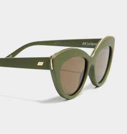 Le Specs Le Specs LSP1902053 Beautiful STRANGER Matte Khaki BROWN MONO