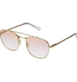 Le Specs Le Specs  Harlem Hustler Vegas Gold Lilac Lens