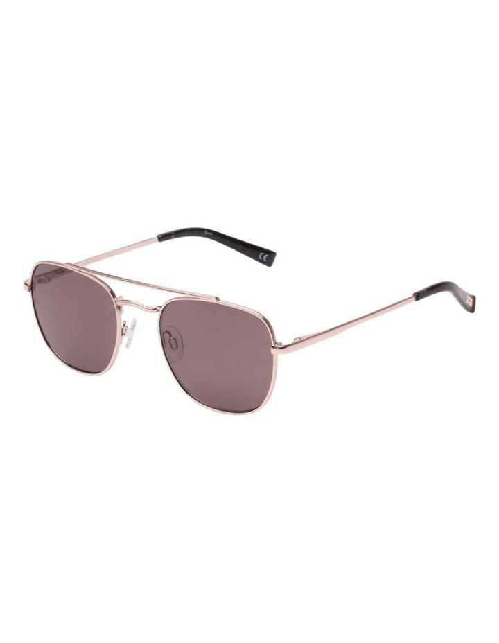 Le Specs Le Specs Harlem Hustler Vegas Gold warm Smoke Lens