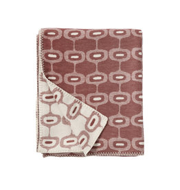 Klippan Klippan  Doris  woven cottton plaid Rose Brown