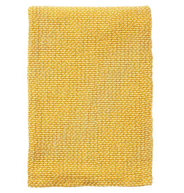 Klippan Klippan Plaid Basket yellow,100% Organic Cotton 130x180cm                                130x180 cm