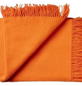 Silkeborg Plaid Orange 130x200 100% Lambswool