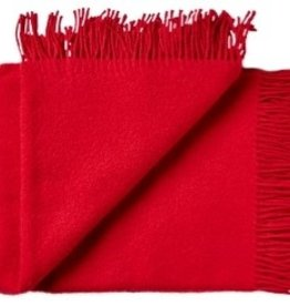 Silkeborg Plaid Coral Red 130x200 100% Lambswool