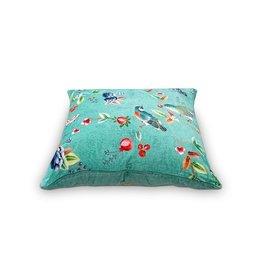 Pip Cushion Birdy Green 60x60cm incl.binnenkussen