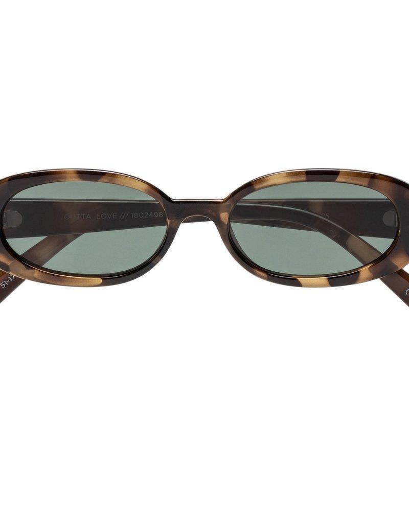 Le Specs Qutta Love Green Mono Lens