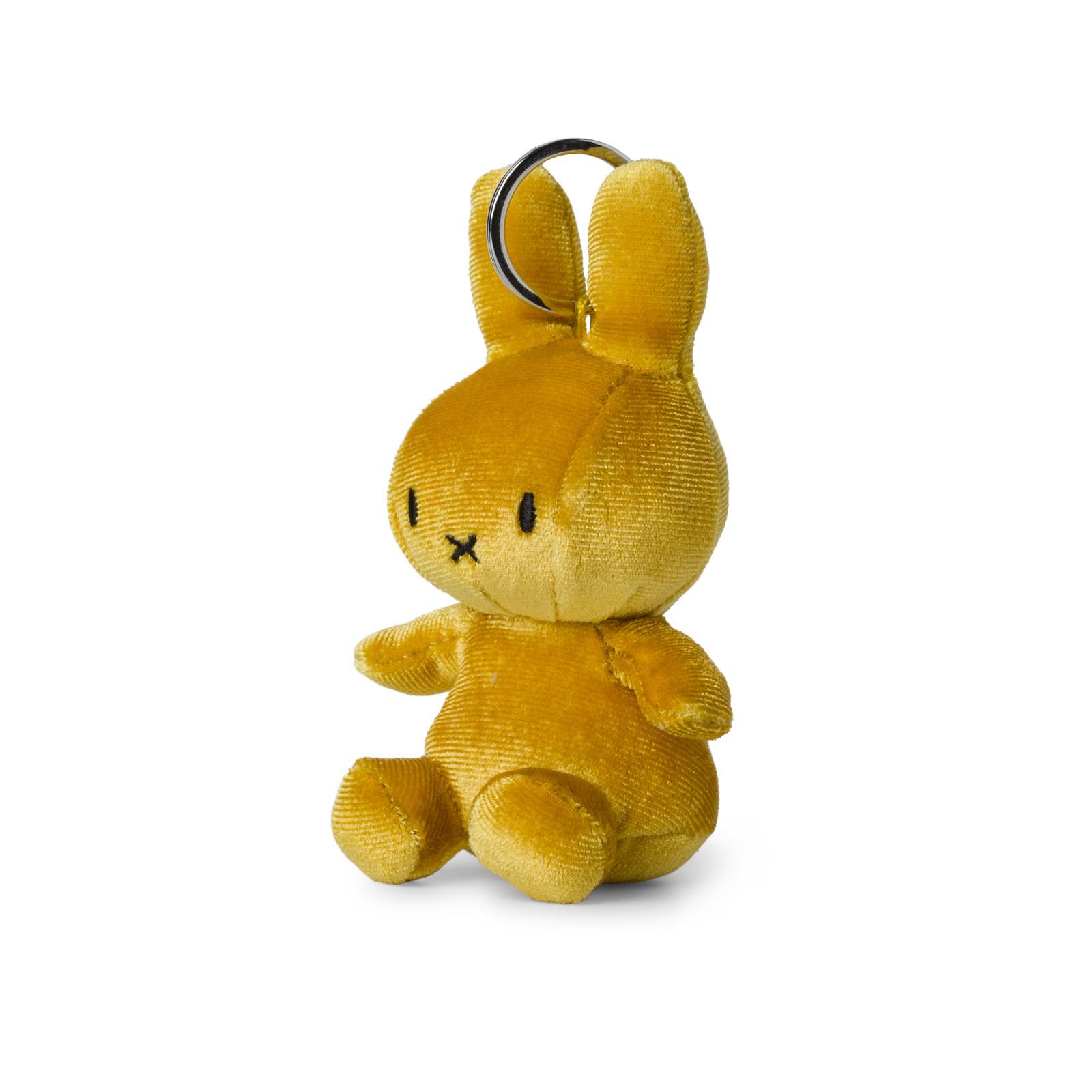 Nijntje/Miffy/Snuffy Miffy Keychain Velvet Oker - 10 cm