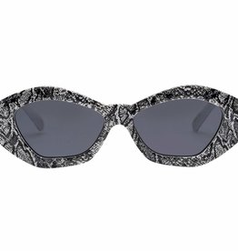 Le Specs THE GINCHIEST SNAKESKIN W/ SMOKE MONO 1902077