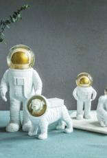 Donkey products Robot Sneeuwbol Goud, 13.5x7.2x6cm,330442